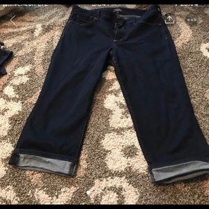 NYDJ crop jeans size 14